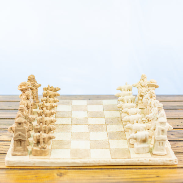 Texas Chess Set