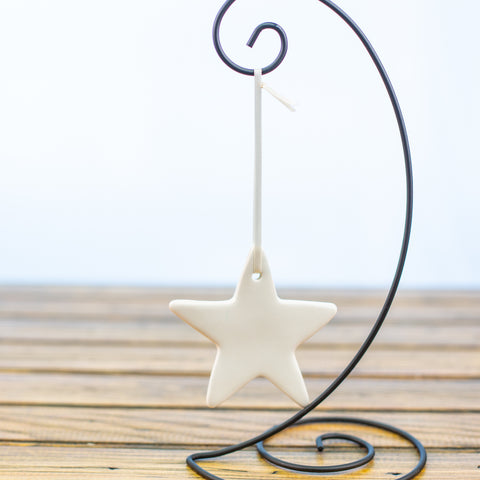 Ornament White Star