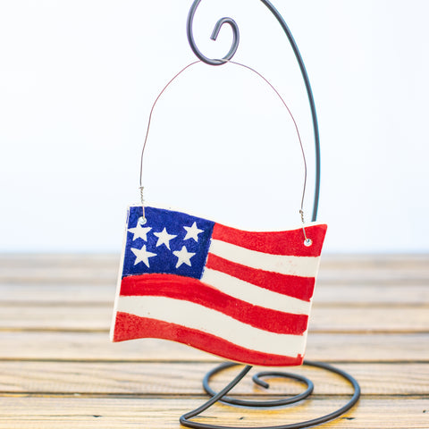 USA Flag Ornament