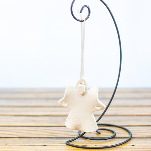 Angel Ornament in White
