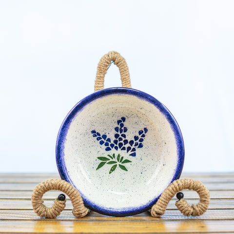 Chili Bowl with Bluebonnet Design