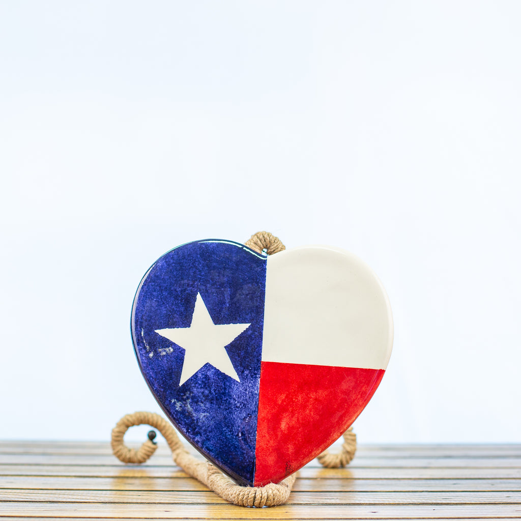 Trivet with Texas Design