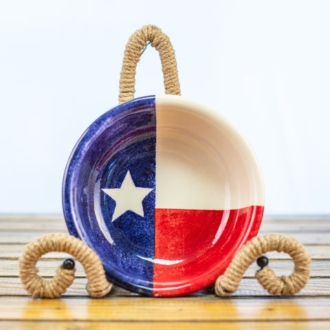 Chili Bowl with Texas Design