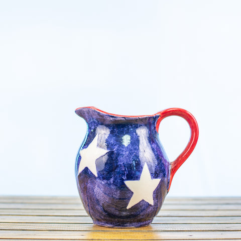 Pitcher with a Texas Design