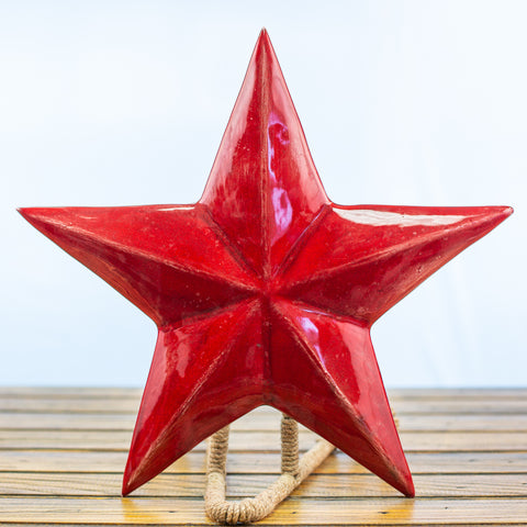 Red Texas Star