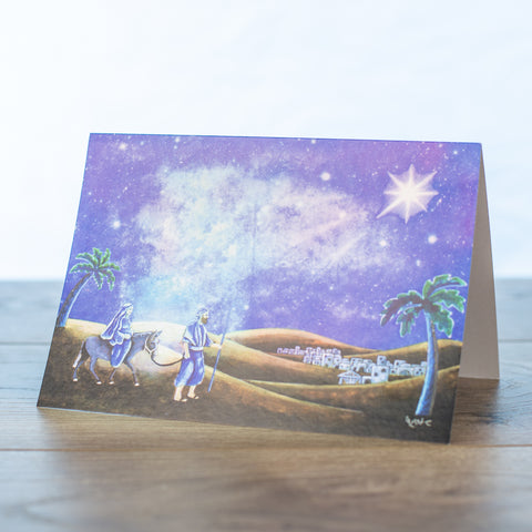 Journey Christmas Card PK of 10