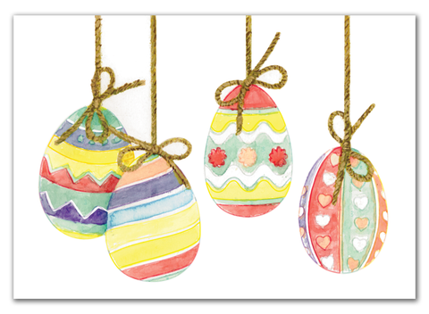 Easter Card / Eggs