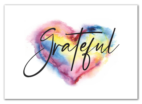 Greeting Card / Grateful