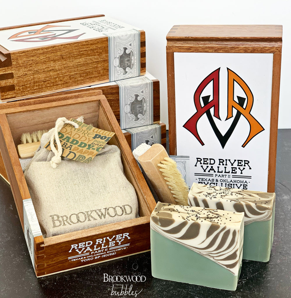 Cigar Box Gift Set