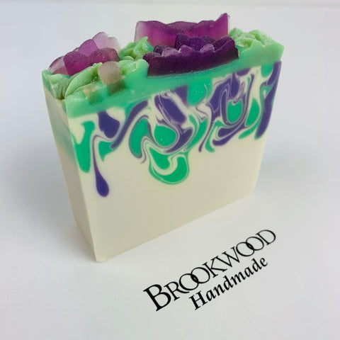 Bar Soap Brookwood Bubbles - Emerald Agave