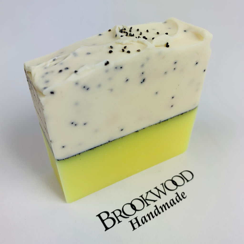 Bar Soap Brookwood Bubbles - Lovely Lemon