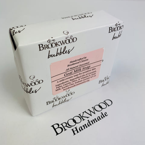 Bar Soap Brookwood Bubbles - Goat Milk