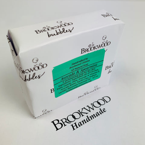 Bar Soap Brookwood Bubbles - Avocado & Spearmint