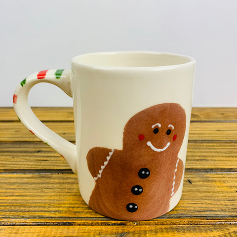 Mug with Gingerbread Design
