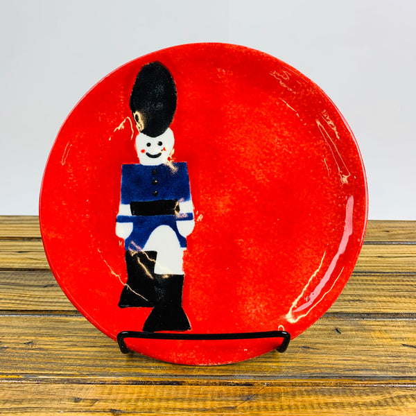 Small Plate with a Nutcracker