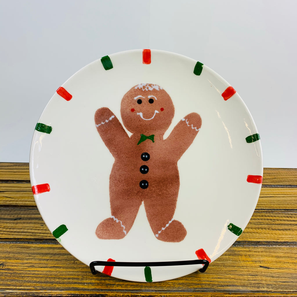 Plate with a Gingerbread