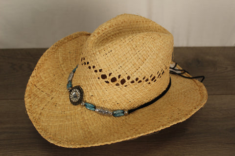 Lady's Straw Sun Hat