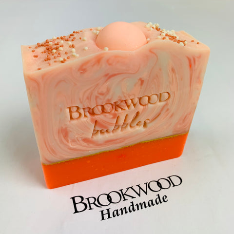 Bar Soap Brookwood Bubbles - Peach Bellini
