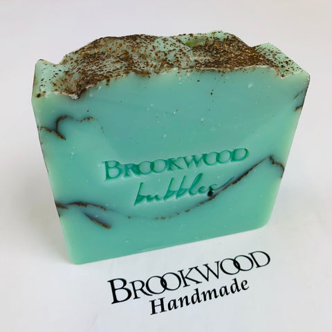 Bar Soap Brookwood Bubbles - Tobacco & Bay Leaf
