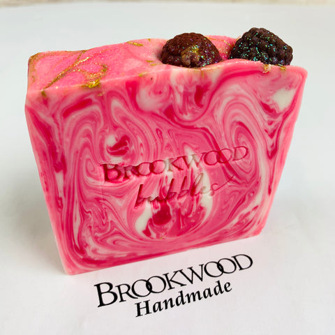 Bar Soap Brookwood Bubbles - Black Raspberry Vanilla
