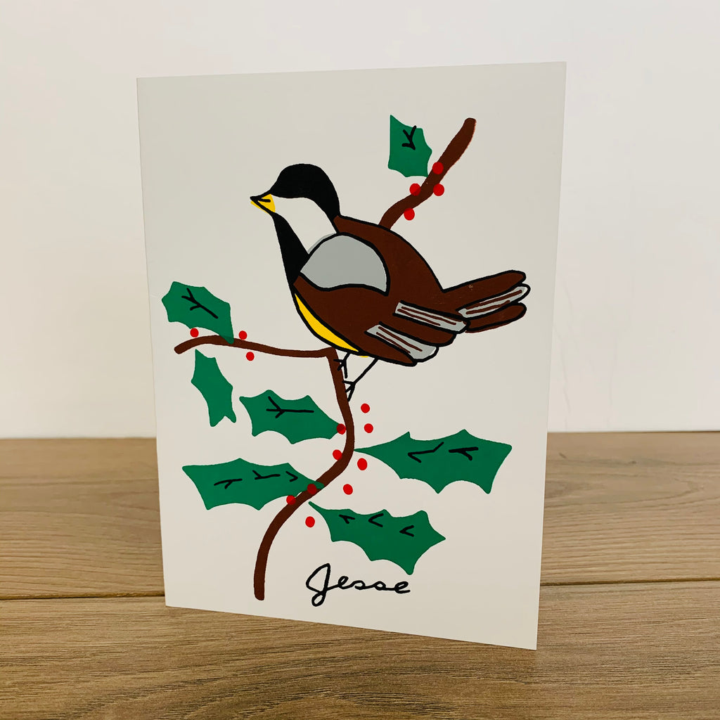 Chickadee Card - Pack of 10