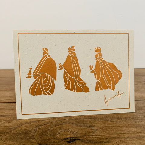 Classic Wise Men Card - Pack of 10