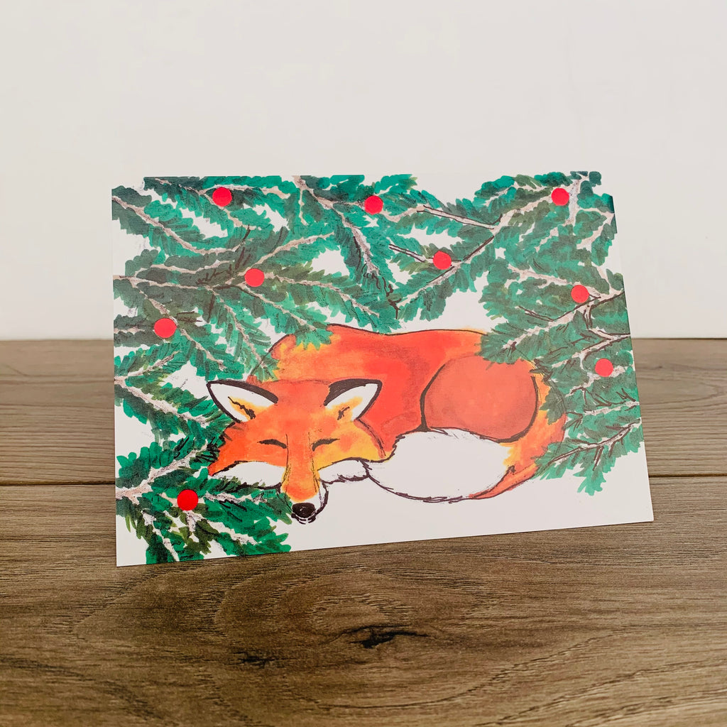 Fox Card - Pack of 10