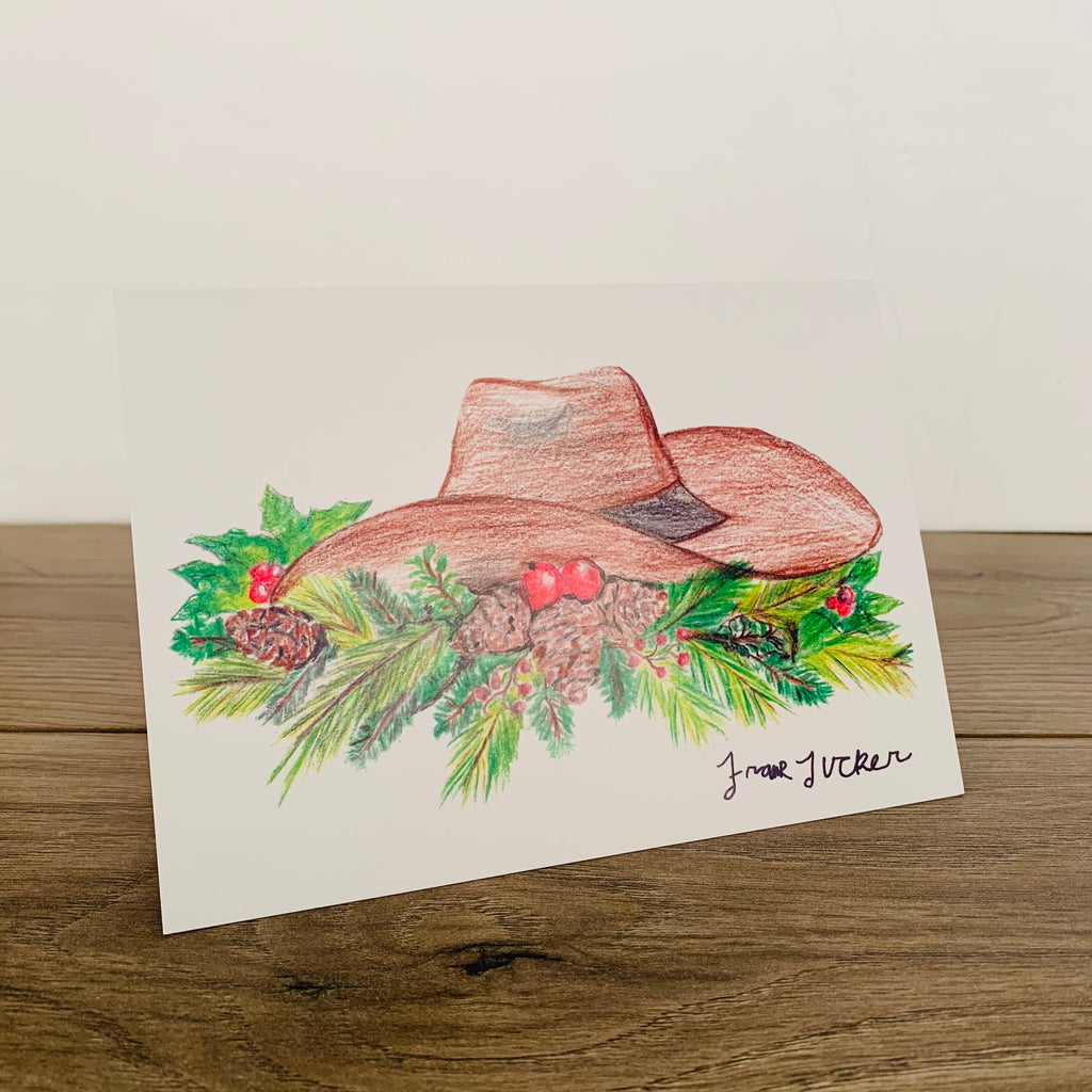 Cowboy Card - Pack of 10