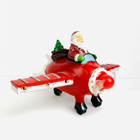 Santa Musical Airplane, LED Light Up