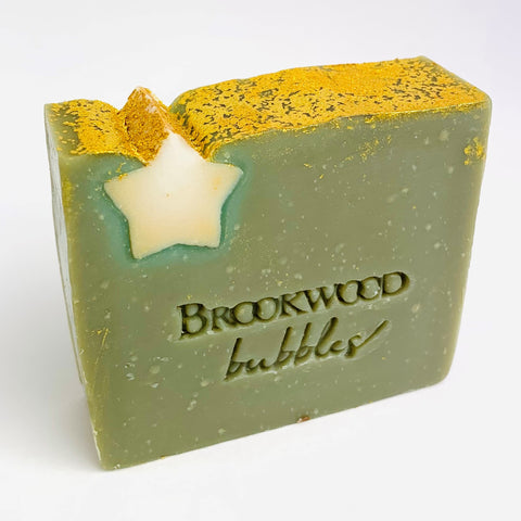 Bar Soap Brookwood Bubbles - Frankincense & Myrrh