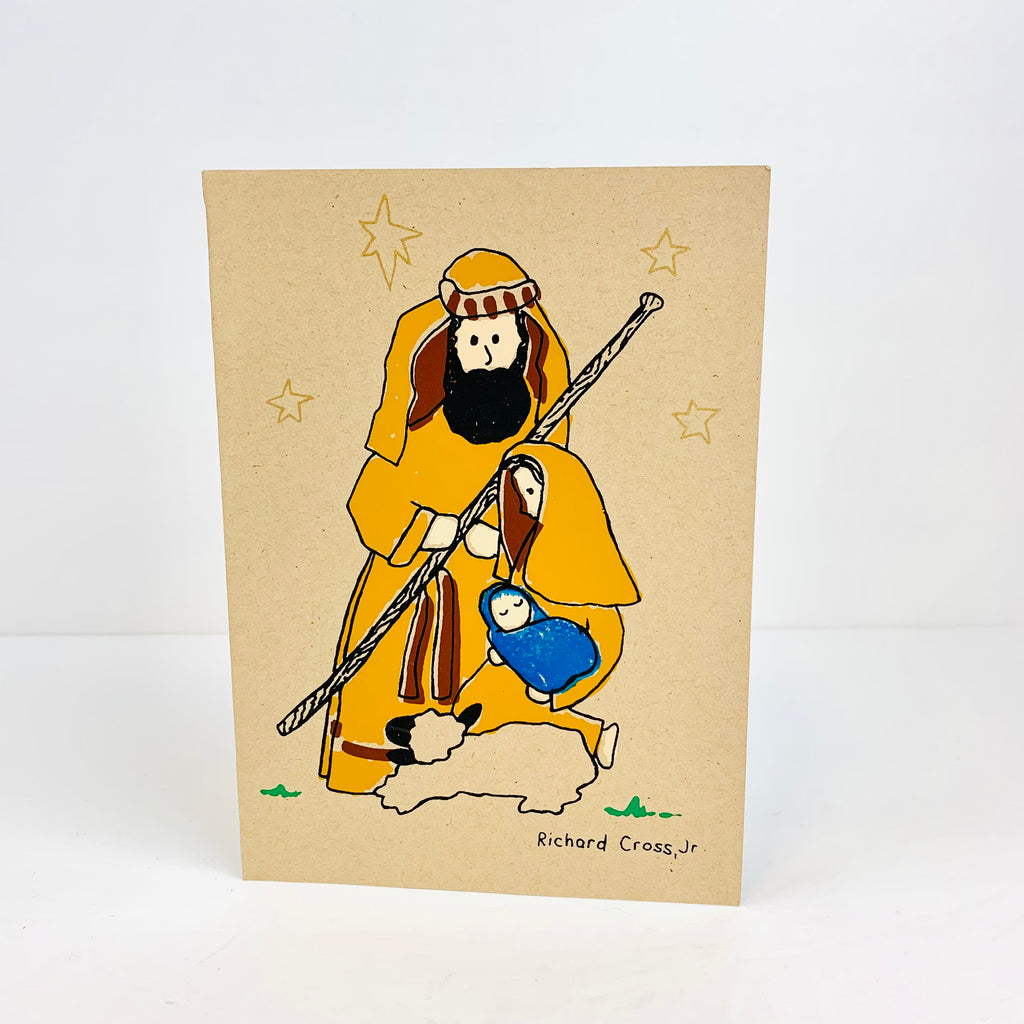 Holy Family Card - Pack of 10