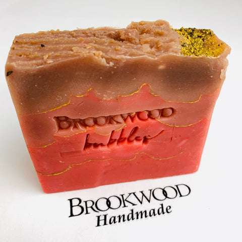 Bar Soap Brookwood Bubbles - Pumpkin Caramel Latte