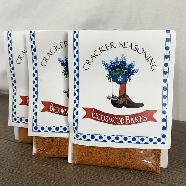 "Cracker Seasoning ""Brookwood Bakes"""