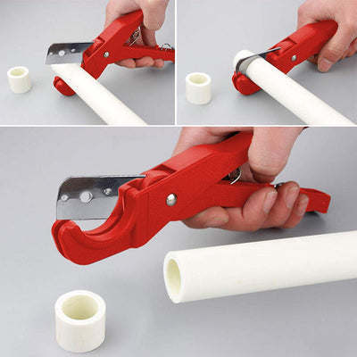 PVC Plastic Pipe Scissor Cutter Up to 1-3/8inch (0-36mm)