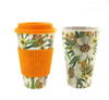 300-450ML Portable Travel Reusable Bamboo Fiber Coffee Cup Eco-Friendly Water Drinking Mug - Alfa Heating Supply