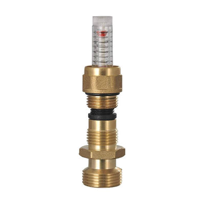 "Radiant Heat Manifold Brass- 3 Loops 1"" & 1/2"" NPT"