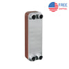 "Evaporator BL26 Plate Heat Exchangers for Evaporation 1"" NPT R22 24/24mm"