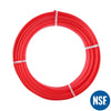 "PEX Pipe 1/2"" 300ft Coil EVOH Oxygen Barrier - Red"
