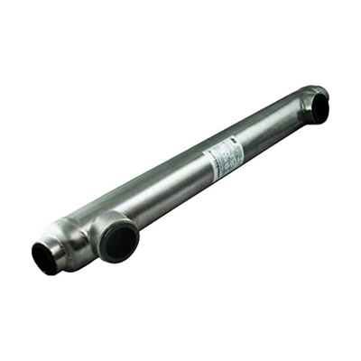 "Swimming Pool Heat Exchanger - 1200K Titanium Same Side 2 1/2"" & 2"" FPT - Alfa Heating Supply"