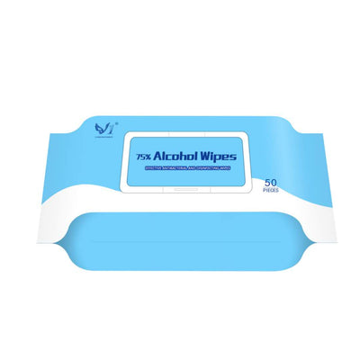 Alcohol Wipes, Cleaning Wipes, Disposable Wipes for Daily Use,Travel 50PCS
