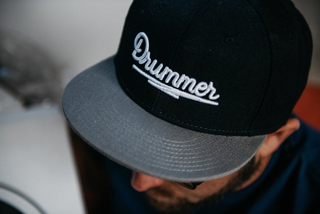 Aquarian Drummer Snapback Hat + Holiday Bonus!