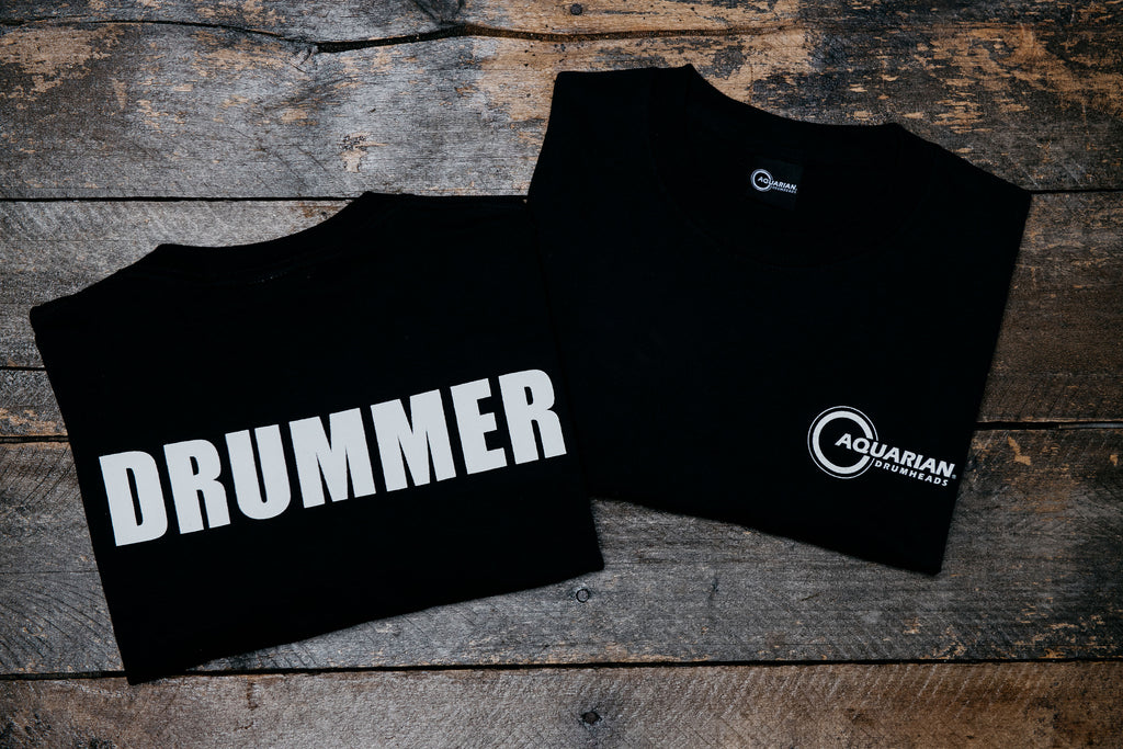 Drummer T-Shirt + Holiday Bonus!