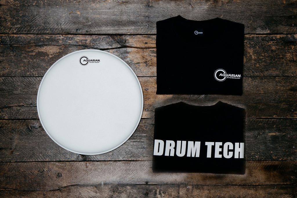 "Texture Coated 14"" & DRUM TECH T-Shirt Pack"