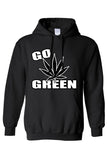 Pullover Hoodie Go Green Save the