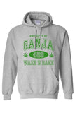 "Men's/Unisex Pullover Hoodie ""Property of Ganja"