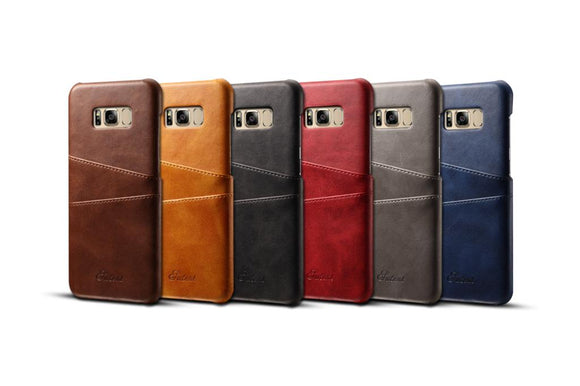 Vintage Leather Case For Samsung S8 & S8 Plus