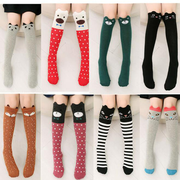 Autumn Girls Knee Socks