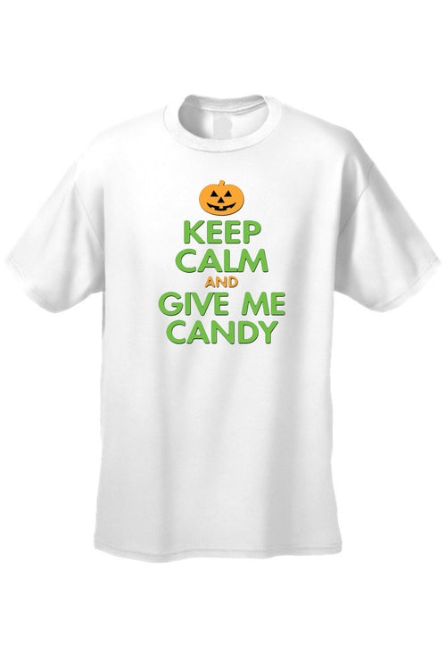 Men's/Unisex Keep Calm And Give Me Candy Short