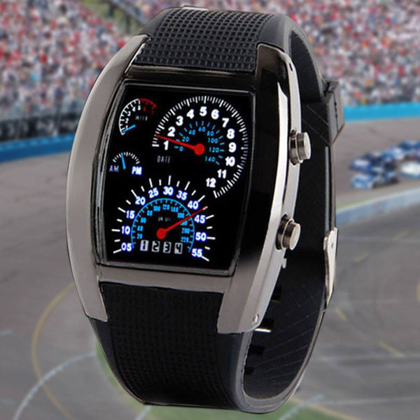 LED Racing Wrist Watch LIMITED EDITION