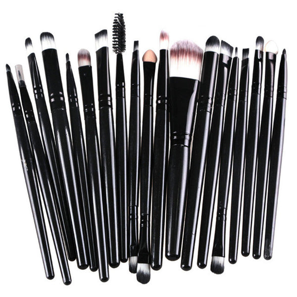 20 Pcs/set Makeup Brushes (Choose From 4 Colors)